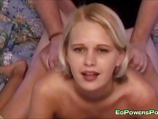 Blondie Gets Her Cunt Ravished Hard